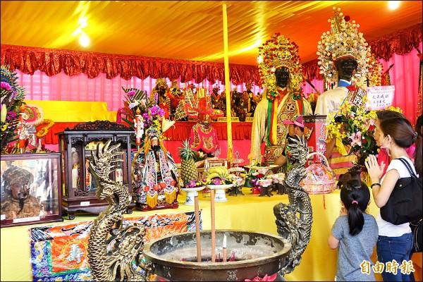 宮廟文化是台灣特色。 圖片來源:自由時報