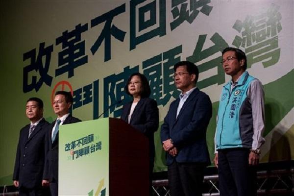 民進黨的進步價值讓選舉慘敗? 圖片來源:三立新聞