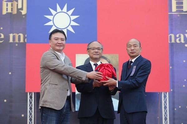 韓國瑜就任高雄市長。 圖片來源:聯合新聞網