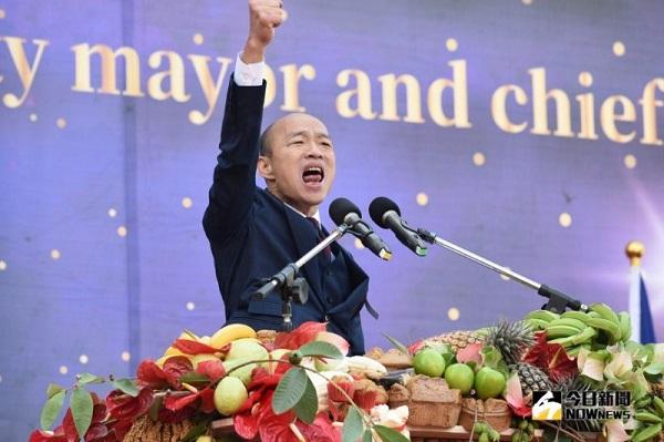 高雄市長韓國瑜提出要開放陸資買房。 圖片來源:今日新聞