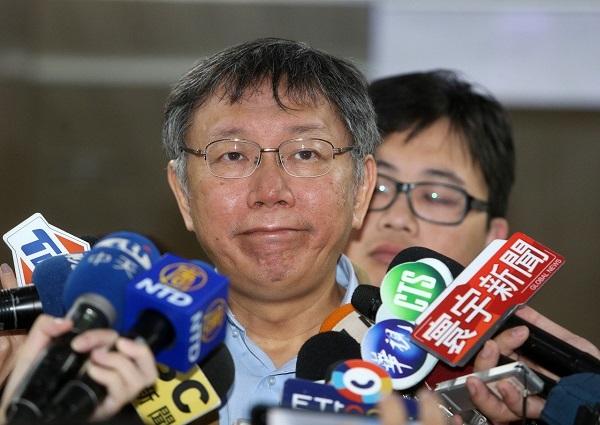 柯文哲網路聲量低於韓國瑜。 圖片來源:聯合新聞網