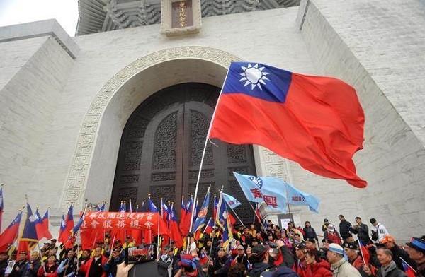 誰在捍衛中華民國? 圖片來源:中天新聞