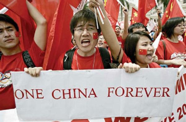 中國夢變成霸凌式民族主義。 圖片來源:新紀元週刊
