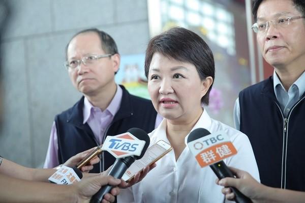 盧秀燕對紙風車停演事件道歉。 圖片來源:聯合新聞網