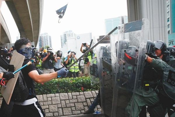 香港人反送中運動引發後續示威抗議。 圖片來源:聯合新聞網