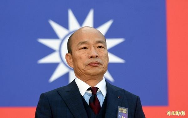 國民黨挺韓國瑜挺過頭了? 圖片來源:自由時報