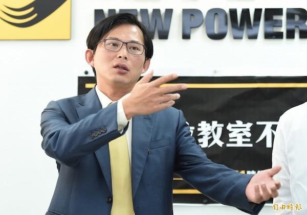 時代力量打算徵召黃國昌選總統。 圖片來源:自由時報