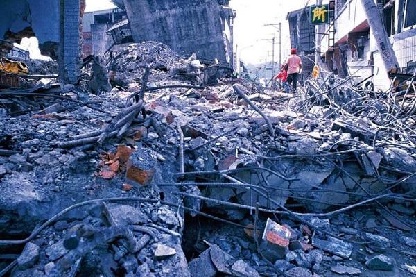 921大地震當年災情慘重。 圖片來源:林瑞慶