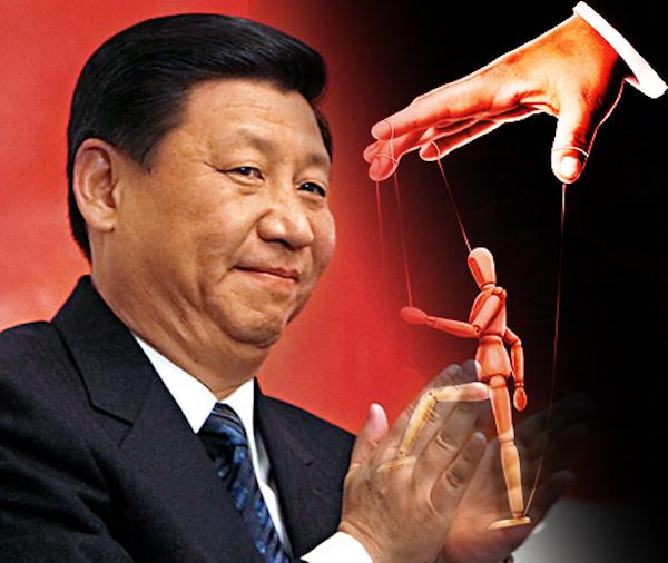 中國的極權主義向世界延伸。 圖片來源:民報