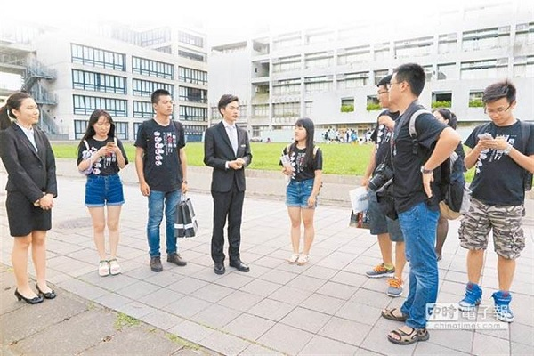 兩岸學生文化交流是統戰的一環,但是否要中斷交流卻有爭議。 圖片來源:中時電子報
