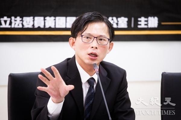 黃國昌會是柯文哲2.0? 圖片來源:台灣大紀元