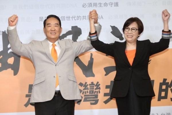 宋楚瑜總統大選最後一戰。 圖片來源:世界新聞網