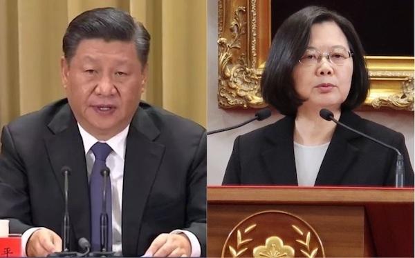 習近平去年發表「習五條」,台灣祭出多項法案反制。 圖片來源:中國禁聞網