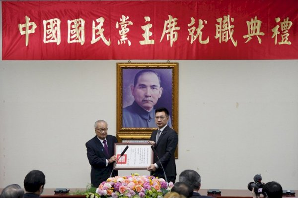 國民黨黨主席補選由江啟臣獲勝。 圖片來源:中央廣播電台