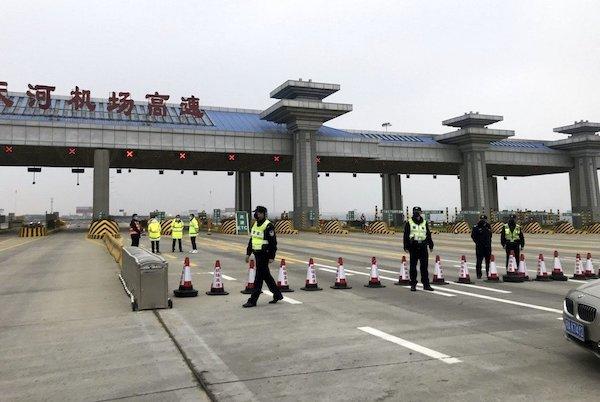 武漢因為新冠病毒而封城,問責將是歷史責任。 圖片來源:聯合新聞網