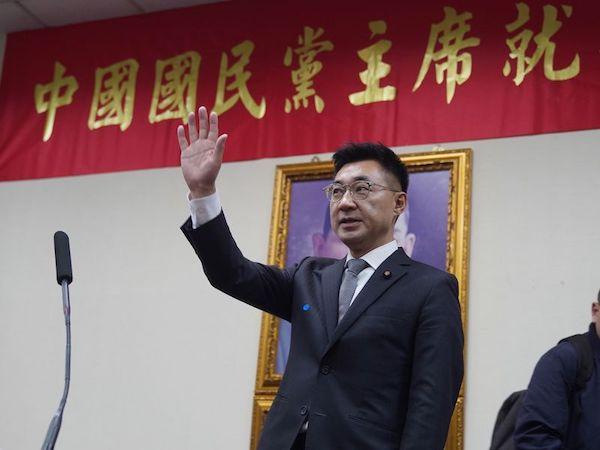 江啟臣獲選國民黨新任黨主席,面臨諸多挑戰。 圖片來源:Yahoo論壇