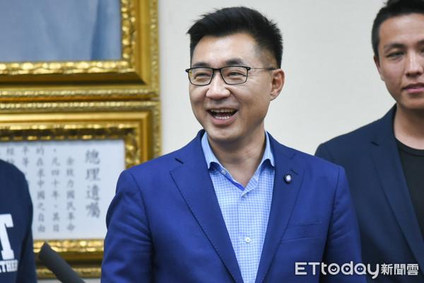 江啟臣贏得國民黨黨主席補選。 圖片來源:ETToday