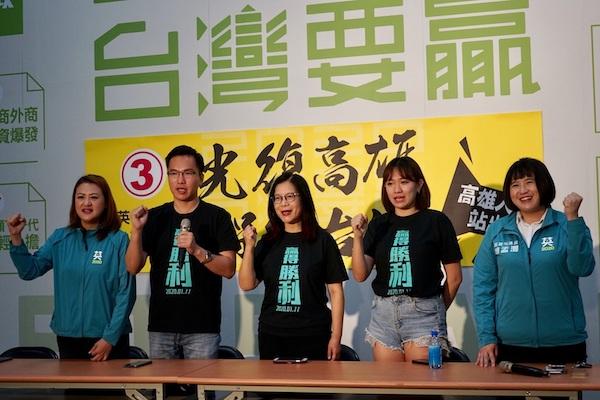 民進黨不應自絕於罷韓的公民運動之外。 圖片來源:新頭殼
