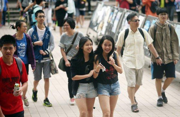 少子化趨勢,私校招生壓力山大。 圖片來源:聯合新聞網