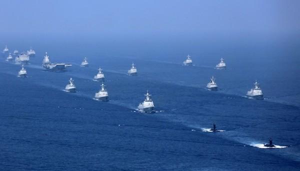 南海成為美中衝突的角力場。 圖片來源:自由時報
