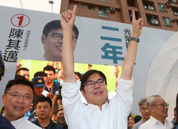 陳其邁剛選上,韓粉發起「割麥行動」。 圖片來源:聯合新聞網
