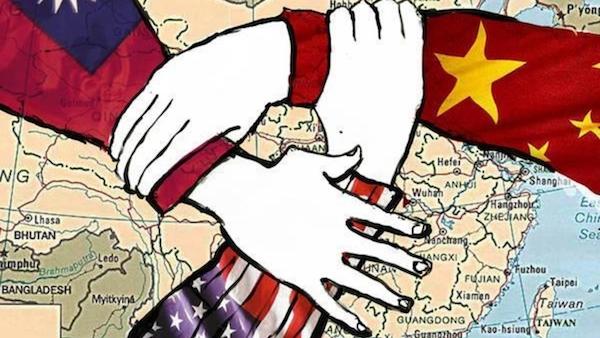 香港與台灣成為美中博弈的角力場。 圖片來源:RFI