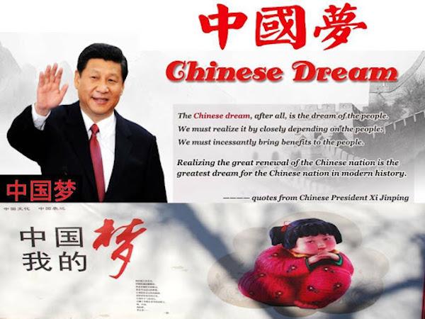 Xi Jinping's Chinese Dream. Image source: Vijaichina