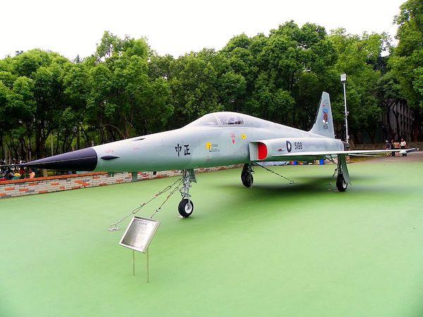 F-5E戰機已屬老舊機種。 圖片來源:新頭殼