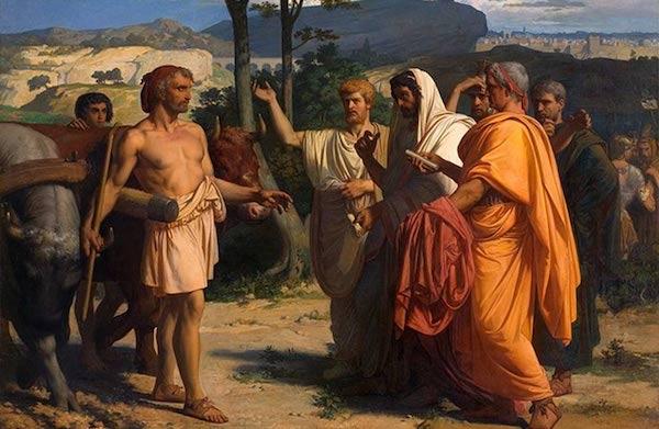 辛辛納圖斯式的集權但不威權領導,帶領羅馬社會度過難關。 圖片來源:Ancient Origins