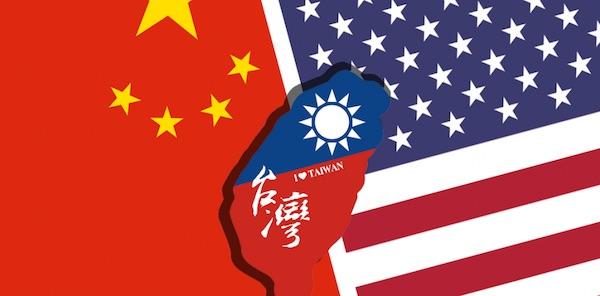 台灣在美中之間關係微妙。 圖片來源:上華市場研究