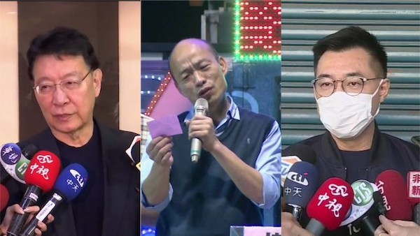 韓國瑜、趙少康聯軍,將逼退江啟臣的黨主席、蔣萬安的台北市長? 圖片來源:壹電視