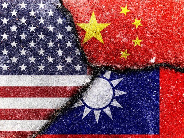 台灣在中國崛起之下,有危機也有轉機。 圖片來源:聯合新聞網
