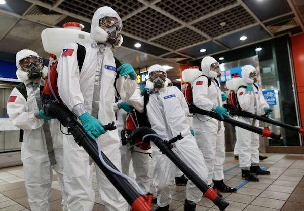 台灣防疫破功,疫情持續升溫。 圖片來源:BBC