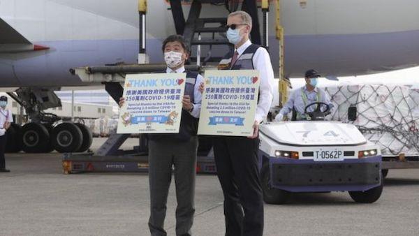 美日在台灣疫情爆發之際伸出援手。 圖片來源:BBC