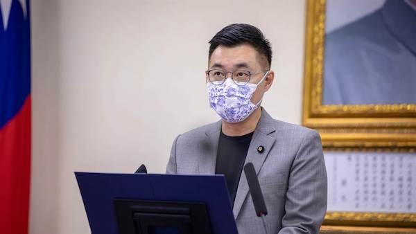 國民黨黨主席江啟臣。 圖片來源:中時
