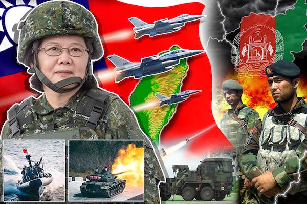 台灣會像阿富汗被美撤軍後的狀況? 圖片來源:放言