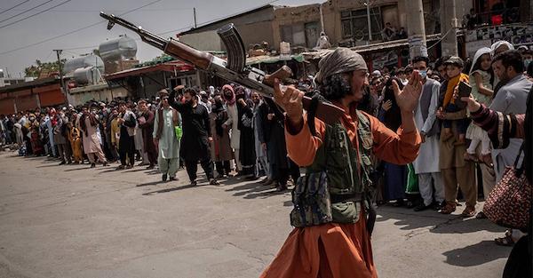 阿富汗自從美軍撤軍後在塔利班控制下一片混亂。 圖片來源:Teepr
