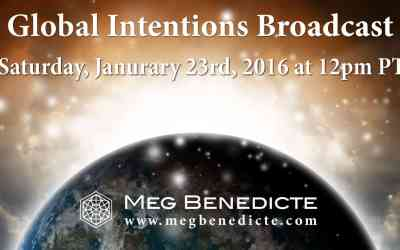 New Year Global Intentions