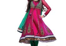 Eid Festival Latest Bridal Embroidered Anarkali Frocks Collection 2012