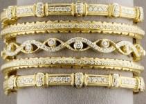 Diamond Bangles For Girls (3)