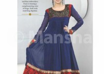 Mansha Salwar Kameez Fall-Winter New Collection For Girls 2012-13(2)