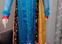 Nadya Visage Latest Party Wear Dress Collection 2012-13 For Women (2)