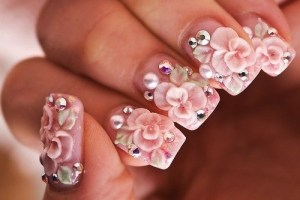 Beautiful Eid Wedding Nail 005