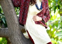 Yahsir Waheed Party wear Stitched Dresses 2012-13 for Women (1)