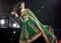 Latest Saree Collection 2012-2013 By Zarine Khan 001