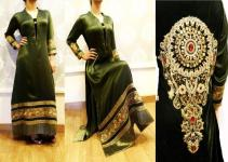 Noor Sahar Latest Winter Party Wear Outfits 2013 For Women