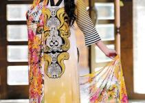 Latest Charizma Summer Collection 2013 For Women Dresses