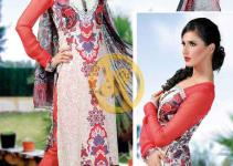 AALISHAN Chiffon Lawn Vol. 2 Collection 2013 For Women 001