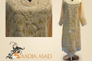Saadia Asad Latest Party Wear Summer Dress Collection 2013 (1)