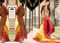 Eid Collection Lawn Embroidered Hannah 2013 By ZS Textile